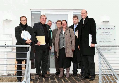 Besuch des Kulturstaatssekretärs Walter Schumacher